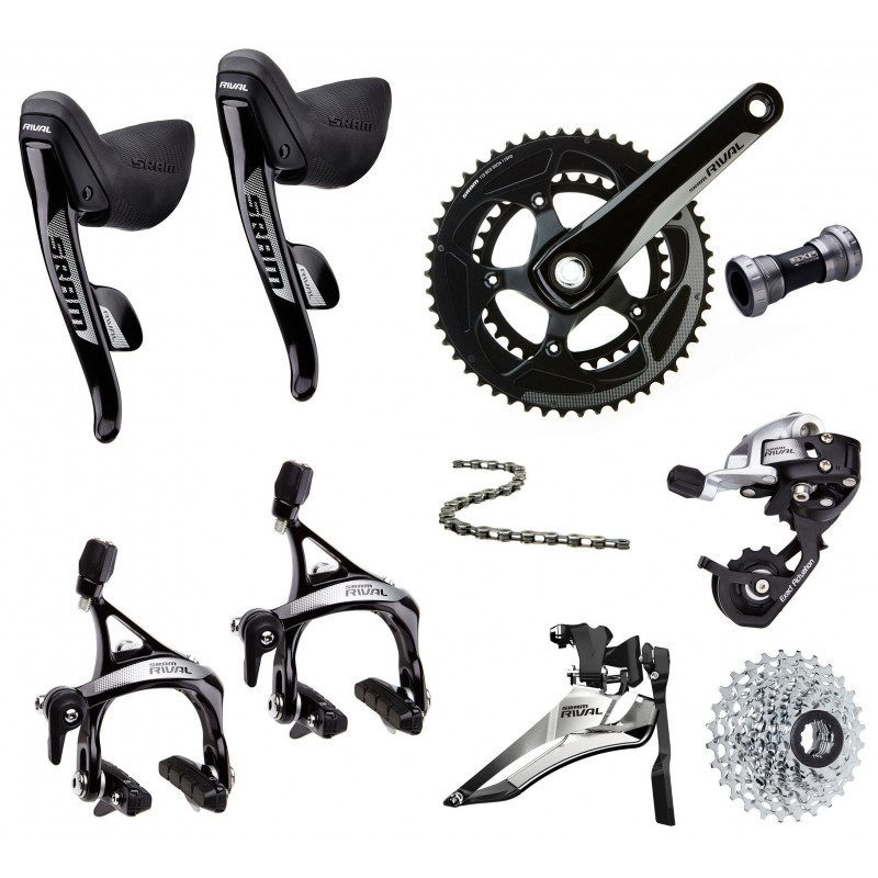 Groupe complet vélo route Sram Rival 22 2x11v