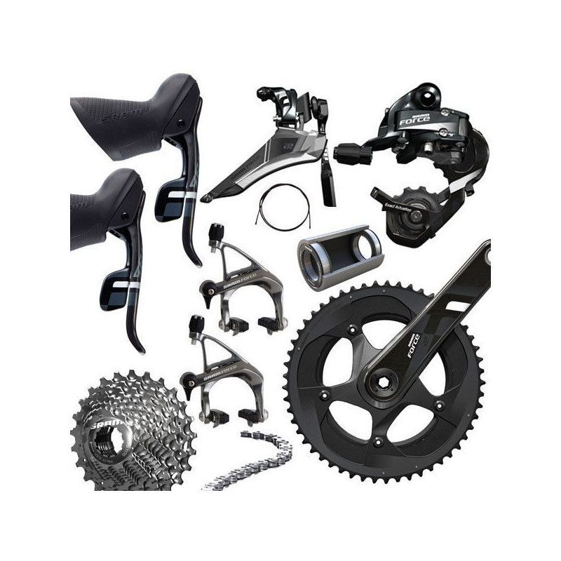 Groupe complet vélo route Sram Force 22 BB30 11v