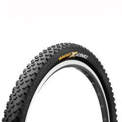 Pneu VTT 27.5 pouces Continental Cross King Protection Tubetype Tubeless Ready tringles souples 2.2