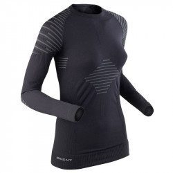 Sous-maillot vélo manches longues femme X-Bionic Invent Shirt Long Sleeves