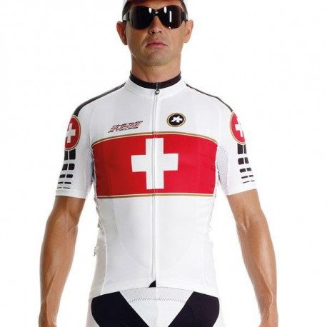 Maillot vélo Assos SS.SuisseOlympiakos s7 manches courtes