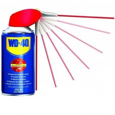 Huile WD-40 Double Spray 250ml