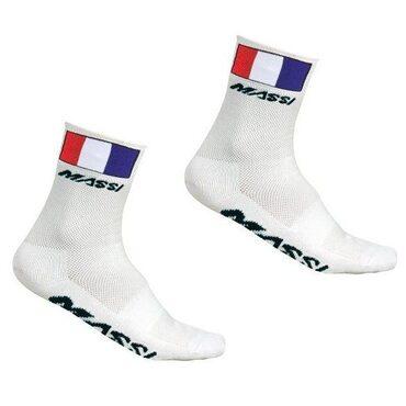 Chaussettes vélo été Massi Champion de France
