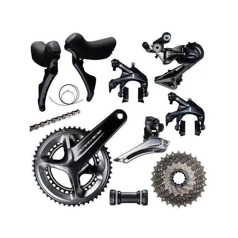 Groupe complet vélo route Shimano Dura Ace R9100 2x11v