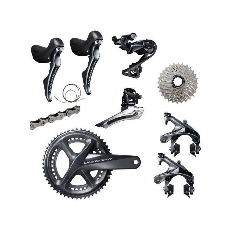 Groupe complet vélo route Shimano Ultegra R8000 2x11v