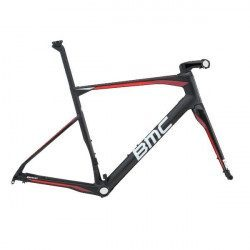 Kit cadre vélo route BMC Roadmachine RM01 Disc Black Red