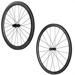 Roues vélo carbone Black Inc combo Thirty - Fifty à boyaux