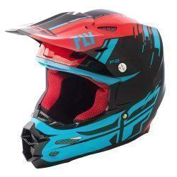 Casque intégral Fly Racing F2 Carbon Forge MIPS