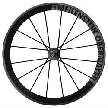 Roues carbone vélo route Lightweight Meilenstein Obermayer à boyaux avec housses