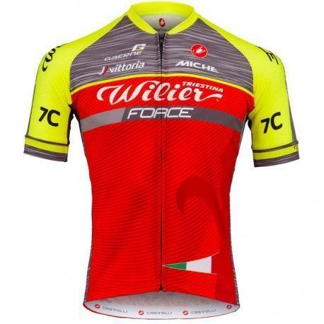 Maillot vélo manches courte Wilier Triestina Team Force