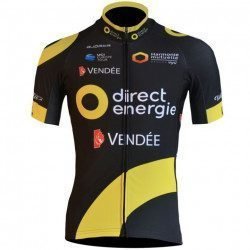 Maillot vélo manches courtes Björka Direct Energie