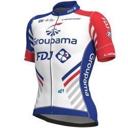Maillot vélo manches courtes Alé Cycling PR System Groupama-FDJ 2018