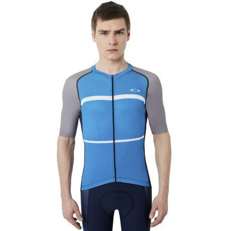 Maillot vélo manches courtes Oakley Colorblock Road
