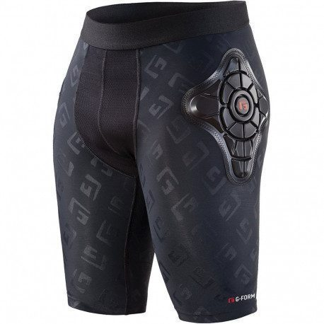 Short de protection G Form Pro X Noir Logo