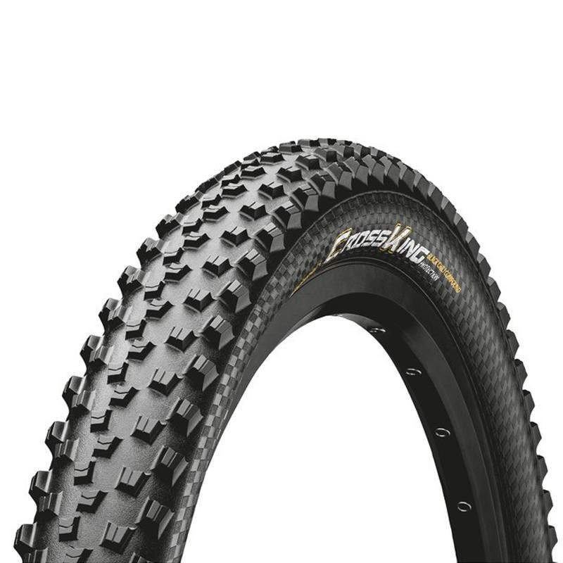 Pneu VTT 29 pouces Continental Cross King tringles souples Pure Grip Tubeless Ready