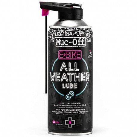 Lubrifiant chaine toutes conditions Muc-Off Ebike All Weather Lube 400 ml