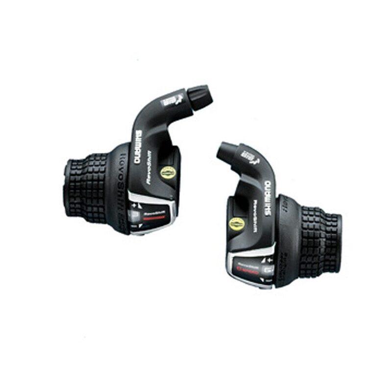 Paire commandes de vitesses VTT Shimano Tourney SL-RS35 3x7 vitesses