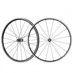 Roues vélo route carbone Shimano RS700 C30 TL