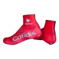 Couvre-chaussures route Nalini Lycra Cofidis