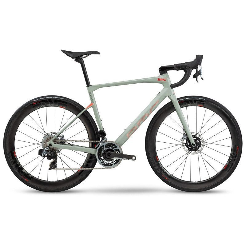 Vélo route BMC Roadmachine RM01 One Red AXS HRD 2020