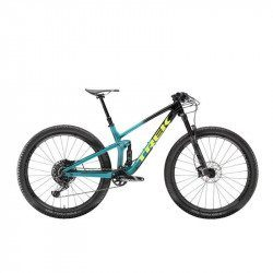VTT All-Mountain tout suspendu Trek Top Fuel 9.8 GX Black/Green 2020