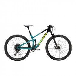 VTT All-Mountain tout suspendu Trek Top Fuel Black/Green 9.7 2020