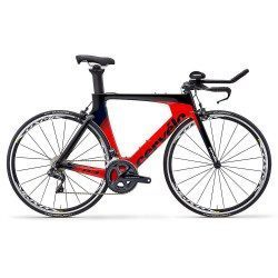 Vélo triathlon Cervélo P3 Ultegra Di2 Black/Red/Navy 2019