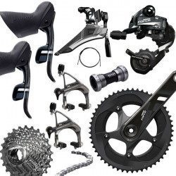 Groupe complet vélo route Sram Force 22 GXP 2x11v