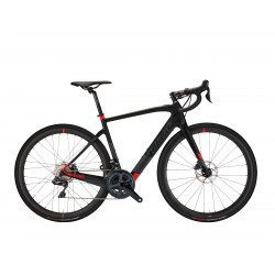 Vélo route électrique Wilier Cento 1 Hybrid Ultegra 8020 Disc Black/Red Matt