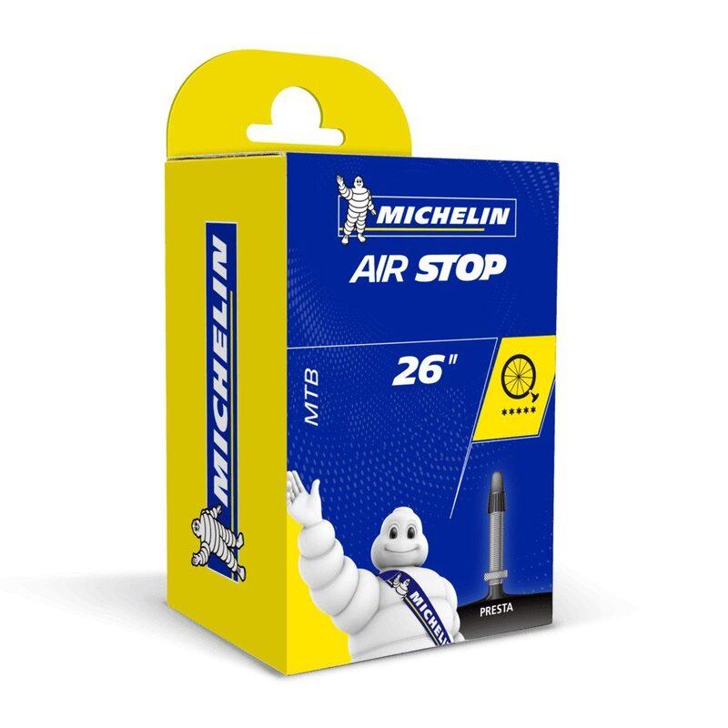 Chambre à air VTT 100 pouces Michelin Airstop Butyl 100x10.10-10.100