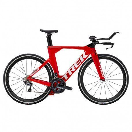 Vélo Triathlon Trek Speed Concept Ultegra 2020 Rouge/Blanc