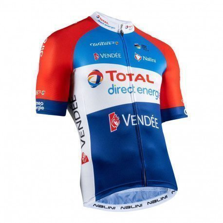Maillot vélo manches courtes Nalini Total Direct Energie 2020