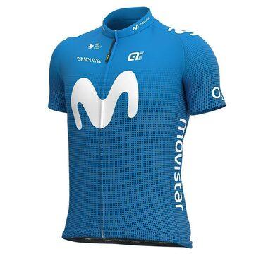 Maillot vélo manches courtes Alé Cycling Replica Movistar 2020