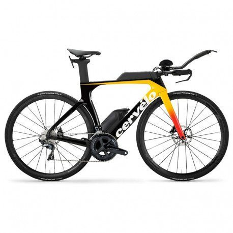 Vélo triathlon Cervelo P-Series Ultegra Orange/Coral 2020