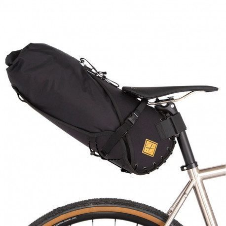 Sacoche de selle bikepacking Restrap Saddle Bag 14 litres noir