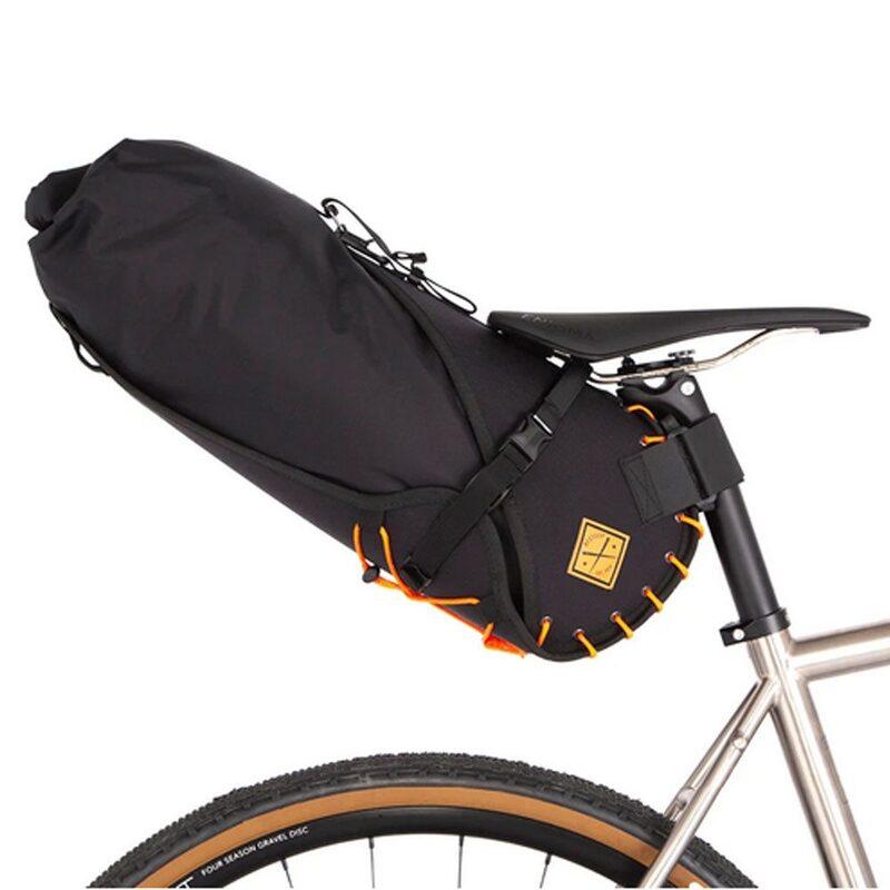 Sacoche de selle bikepacking Restrap Saddle Bag 14 litres orange