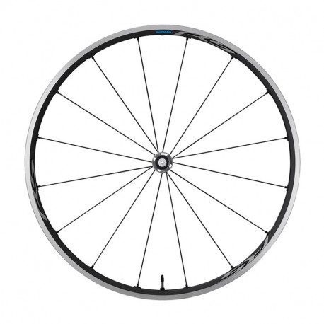 Roue avant vélo route Shimano WH-RS500 Tubeless Ready
