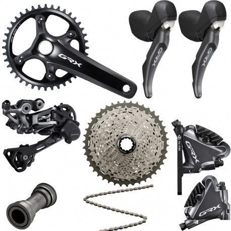 Groupe complet Gravel Shimano GRX RX810 Disc 1X11 vitesses
