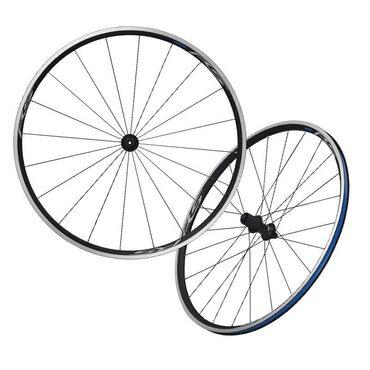 Roues vélo route Shimano WH-RS100 à pneus