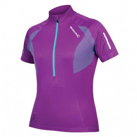 Maillot vélo manches courtes femme Endura Xtract S/S