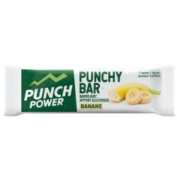 Barre énergétique Punch Power Punchy Bar Banane 30g DLUO 02/21