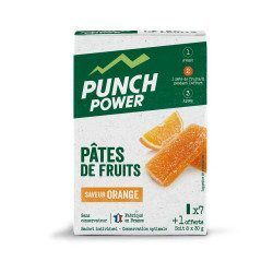 Boite de 7 pâtes de fruits + 1 gratuite Punch Power Orange 30 grammes