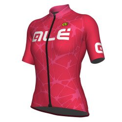 Maillot vélo manches courtes femme Alé Cycling Solid Cracle