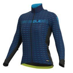 Maillot vélo manches longues femme Alé Cycling PRR Green Road
