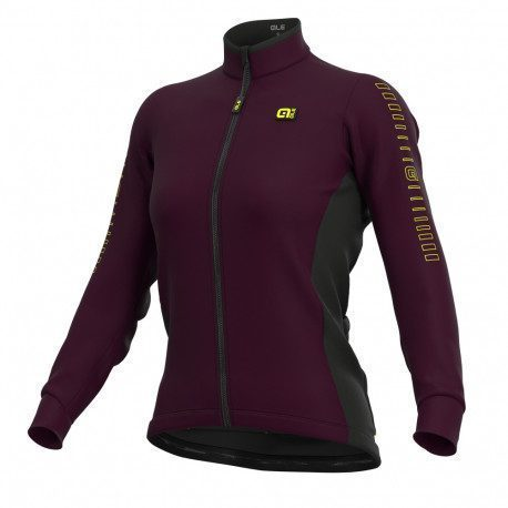 Maillot vélo manches longues femme Alé Cycling Solid Fondo 2021