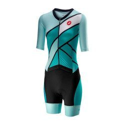 Trifonction manches courtes femme Castelli All Out Speed Suit