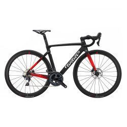 Vélo route Wilier Cento10 SL Ultegra Disc RS170 Black/Red 2021