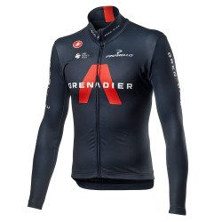 Maillot vélo manches longues Castelli Thermal Team Ineos Grenadier 2021