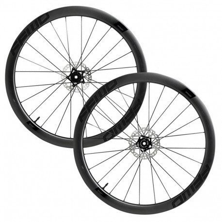 Roues vélo route carbone Fast Forward Ryot 44 DT240