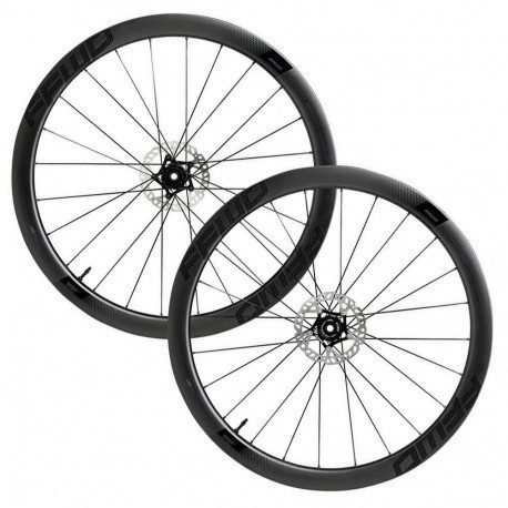 Roues vélo route carbone Fast Forward Ryot 44 DT350